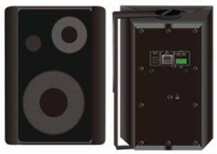 IP POE Powered Wall Mount Speaker FIP-310P
